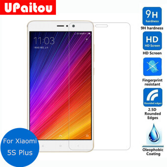 Tempered Glass Screen Protector 0.26mm 2.5D 9H Protective Film for Xiaomi Mi 5S Plus