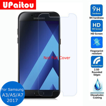 Tempered Glass Screen Protector Safety Protective Film For Samsung Galaxy A3 A5 A7 2017 A320 A520
