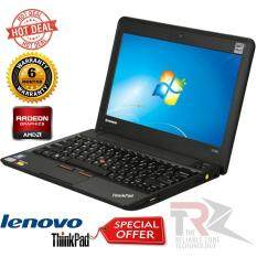 ThinkPad Laptop X Series X130e (062223U) AMD Dual-Core Processor E-450 (1.65 GHz) 4 GB Memory 320 GB HDD AMD Radeon HD 6320 11.6 Windows 7 Professional 64-Bit (BOX PACK) Malaysia