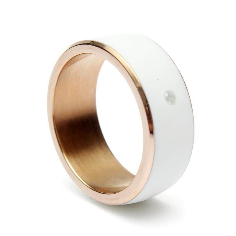 TimeR RING MJ02 NFC Magic Wear Smart Ring for Samsung HTC Sony LG Mobile Phone 62.8mm - intl