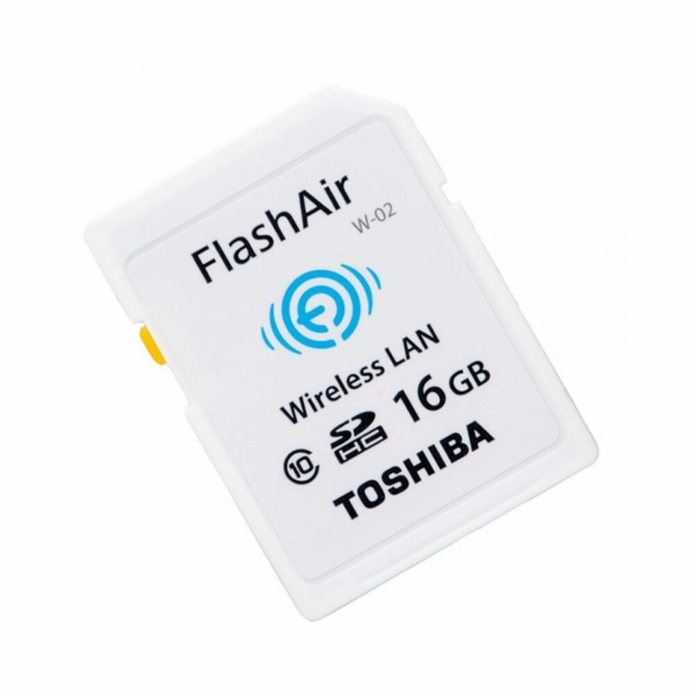 Toshiba FlashAir Wifi Card SDHC 16GB Class 10 Photo Memory card W-03 (Original Malaysia)