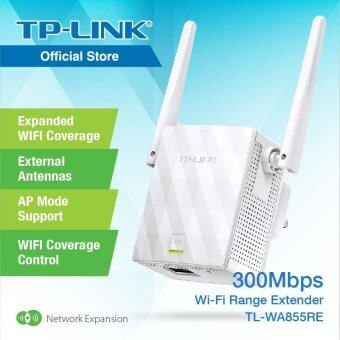 TP-LINK, 300Mbps Wi-Fi Range Extender / WiFi Super Booster / Repeater Mode - TL-WA855RE
