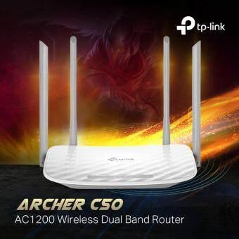 TP-LINK - ARCHER C50, AC1200 2.4 + 5Ghz Dual Band Wireless WiFi Router Unifi Maxis Fibre Time Fiber