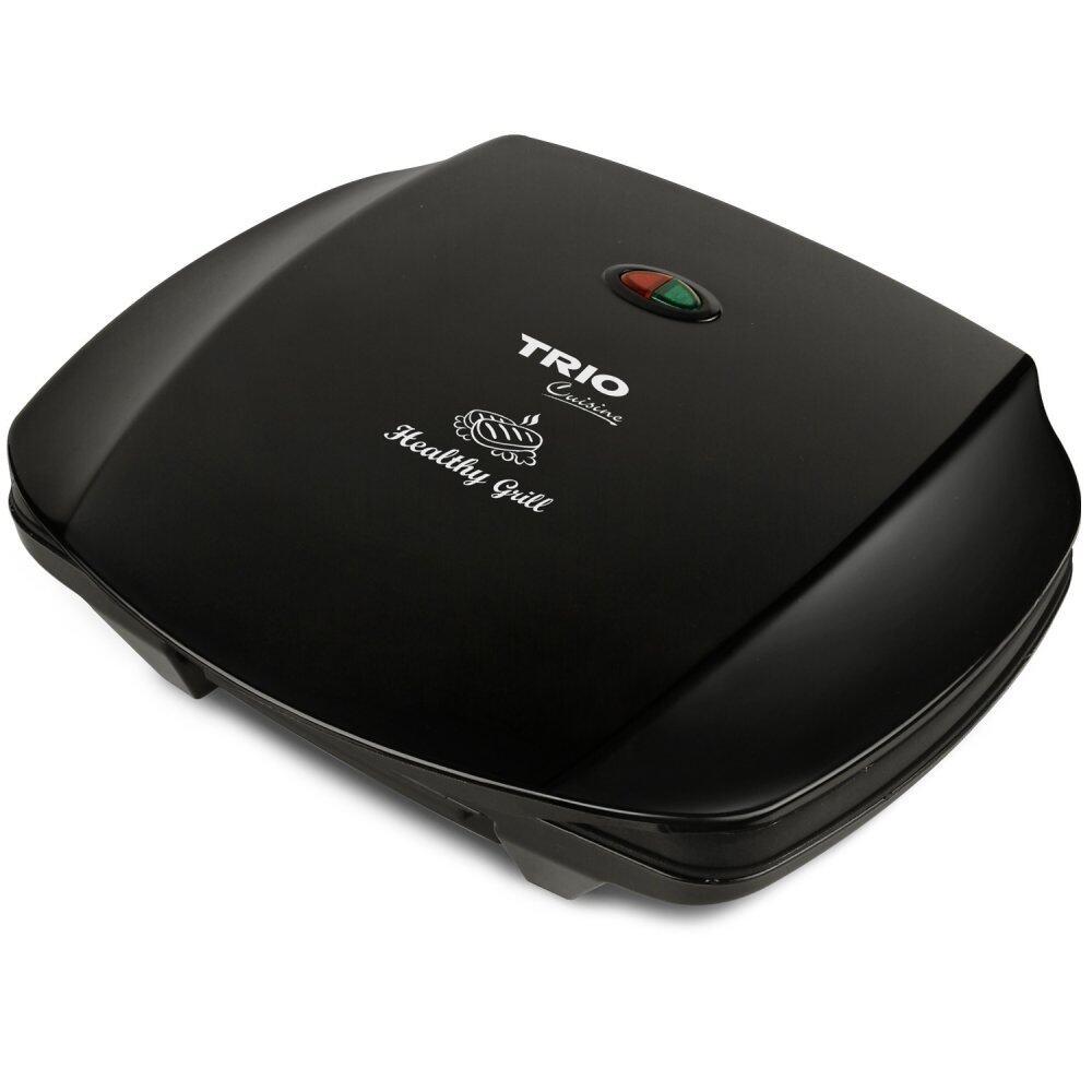 Trio THG 2990 Home Panini Sandwich & Multi-purpose Healthy Grill (Black)