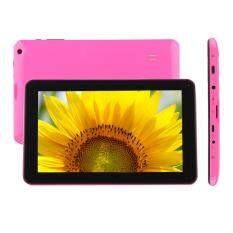 Triumphant Hot Sell Free Shipping 9 Android4.4 KitKat A33 Quad Core 1G+ 16GB Pad Dual Camera Wifi Tablet PC Pink Malaysia