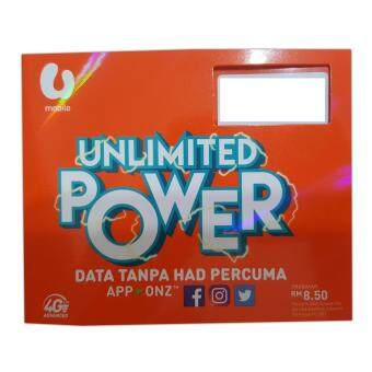 Review U Mobile Gx50 Unlimited Data And Call Postpaid Sim