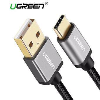 UGREEN 0.25Meter USB Type C Data Sync and Charger Cable Aluminium Case Braid Design For