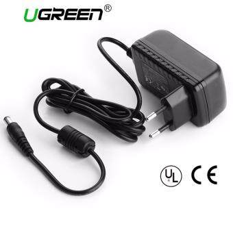 Harga Ugreen AC DC Adapter DC 12V 2A AC 100-240V Converter AdapterUniversal Wall Charger Power Supply EU Plug 2.1mm x 5.5mm