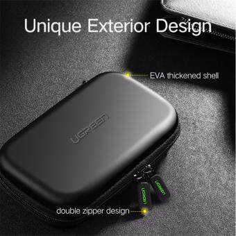 UGREEN External Hard Drive Case Bag, Travel Electornics Accessories Organizer Bag For 2.5 Inch Hard Drives/Earphone/U Disk Hard Disk Drive Malaysia