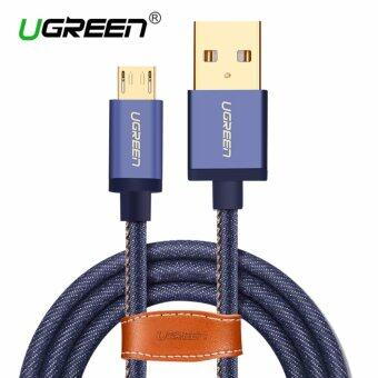 Malaysia Prices UGREEN Micro USB 2.0 Cable Denim Braided Sync and Fast Charging Data Cable for Android Mobile Phone - 1M