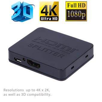 Harga Ultra HD 4K HDMI Splitter Full HD 3D 1080p Video HDMI 1X2