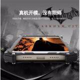 Sangat Tipis Logam Aluminium Paduan 2 Dalam 1 Penyangga Telepon Case untuk Xiaomi Mi Maksimum Sarung Cover Anti Guncangan - 3