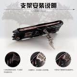 Sangat Tipis Logam Aluminium Paduan 2 Dalam 1 Penyangga Telepon Case untuk Xiaomi Mi Maksimum Sarung Cover Anti Guncangan - 4