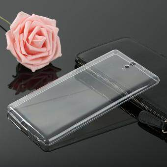 Ultra Slim Thin Silicone TPU Transparent Soft Clear Phone Cover Case For Sony Xperia C5 Phone