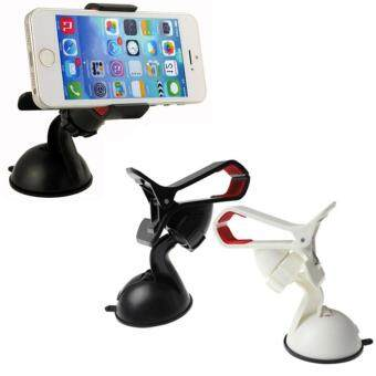 Harga Universal 360 Rotating Car Windshield Duckbill Clip Mount HolderStand Mobile Phones GPS Tablet PC Accessories