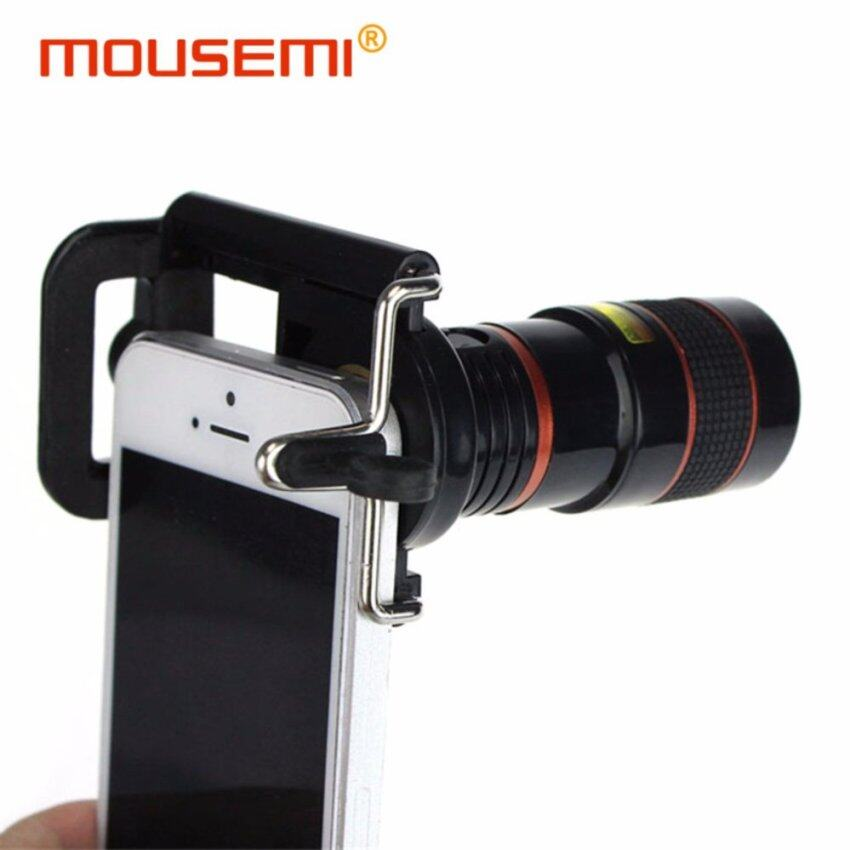 iphone zoom lens. universal clip 8x mobile telephone lens optical zoom cell phone telescope camera for iphone xiaomi 3 smartphone lenses | lazada malaysia iphone o