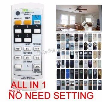 Review Universal All In One Wall Ceiling Fan Remote Control