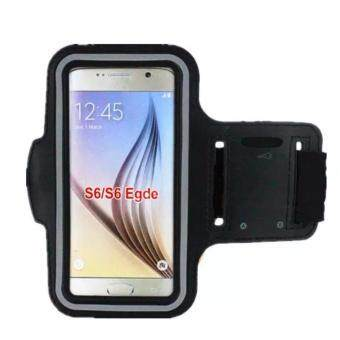 Universal Mobile Phone Armband Bag Sports Running Jogging GymArmband Arm Band Case Cover Holder for iPhone 6 7 Smart Phone5Inches (Black) - 2