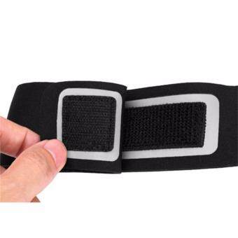 Universal Mobile Phone Armband Bag Sports Running Jogging GymArmband Arm Band Case Cover Holder for iPhone 6 7 Smart Phone5Inches (Black) - 3