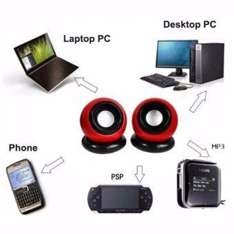 USB Mini Portable Speaker Music Player for Computer Desktop PC Laptop Notebook Malaysia