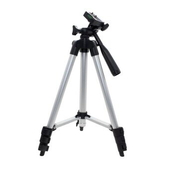 Harga Vanker Aluminum Alloy 4 Sections Extendable Mobile Phone Camera DVTripod Mount Stand