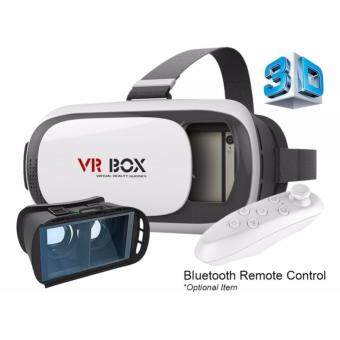 VR BOX II (VER 2.0) 3D VIRTUAL REALITY GLASSES HEADSET FREE BLUETOOTH REMOTE CONTROLLER