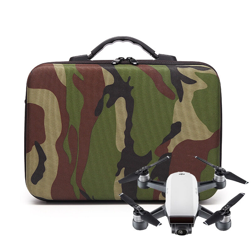 Beli Waterproof Shockproof Drone Camouflage Shoulder Bag Carrying Bag Handbag Storage With Epp Liner For Dji Spark Intl Cicil