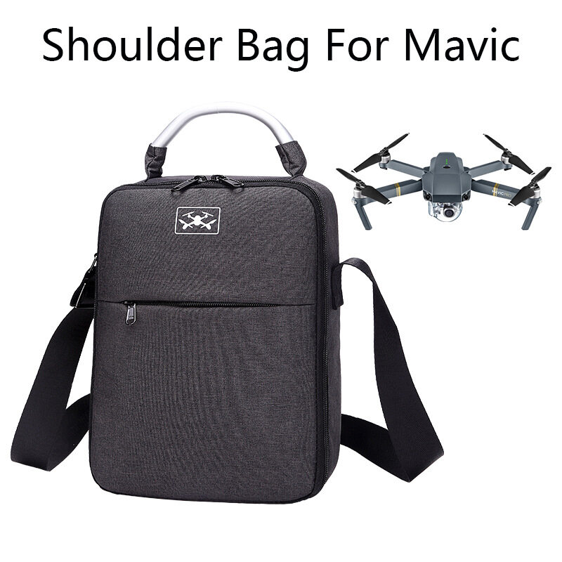 Jual Waterproof Shockproof Drone Shoulder Bag Carrying Bag Professional Backpack Handbag Storage With Epp Liner For Dji Mavic Black Blue Intl Online Di Tiongkok