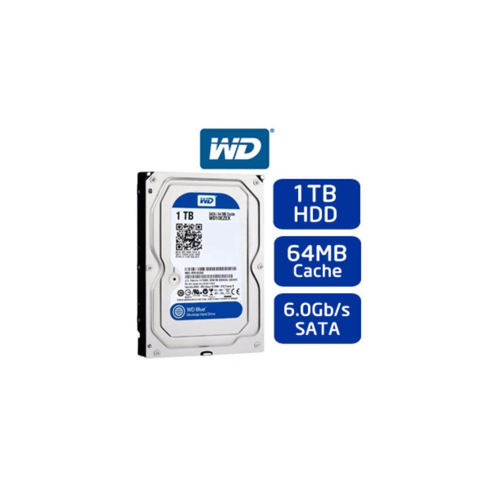 Wd 1tb 35 Harddisk 7200 Rpm Blue Malaysia Hardisk Pc 320gb Sata