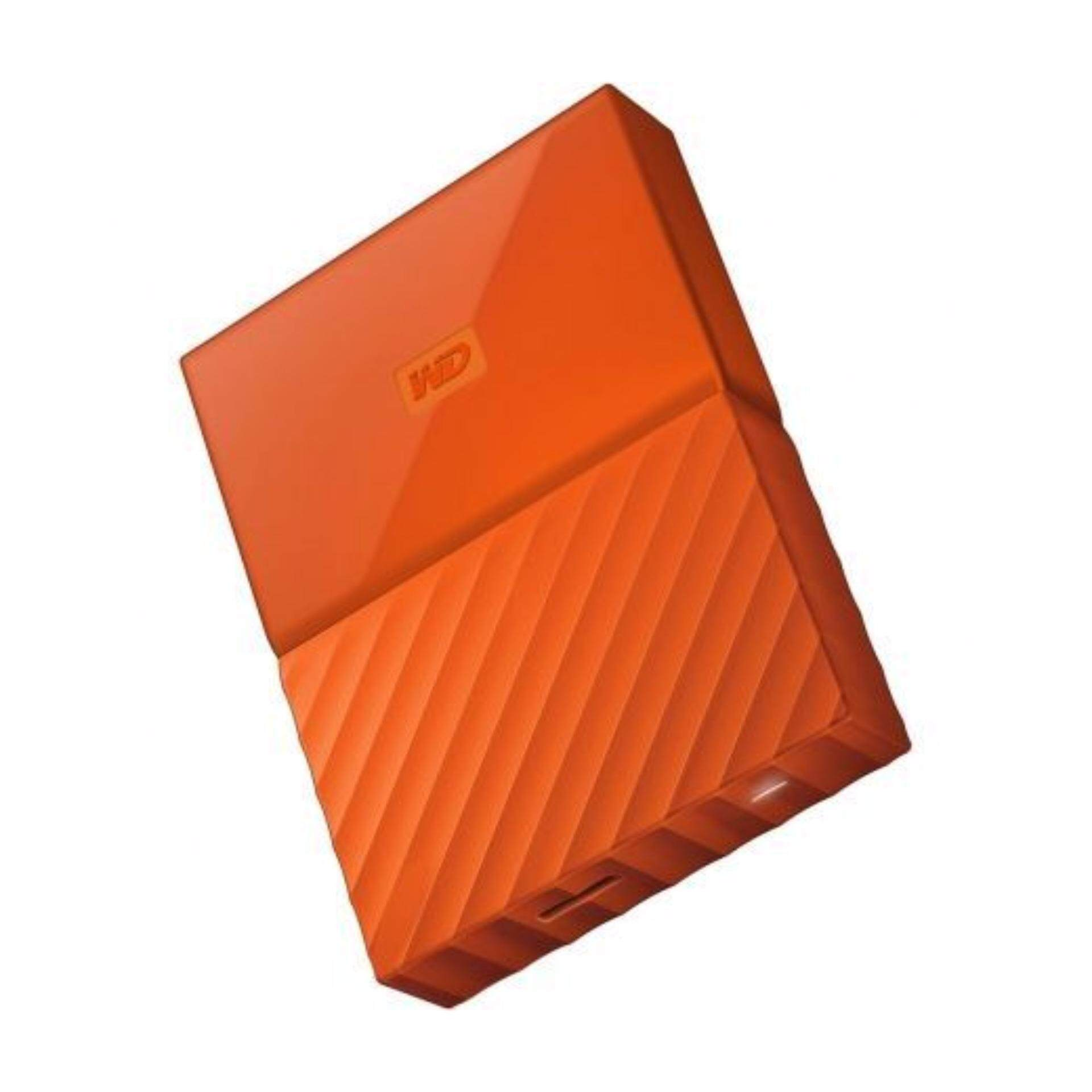 WD Western Digital HDD My Passport ( 1TB ) Portable Storage External Hard Disk Drive (ORIGINAL/ READY STOCK) - ORANGE