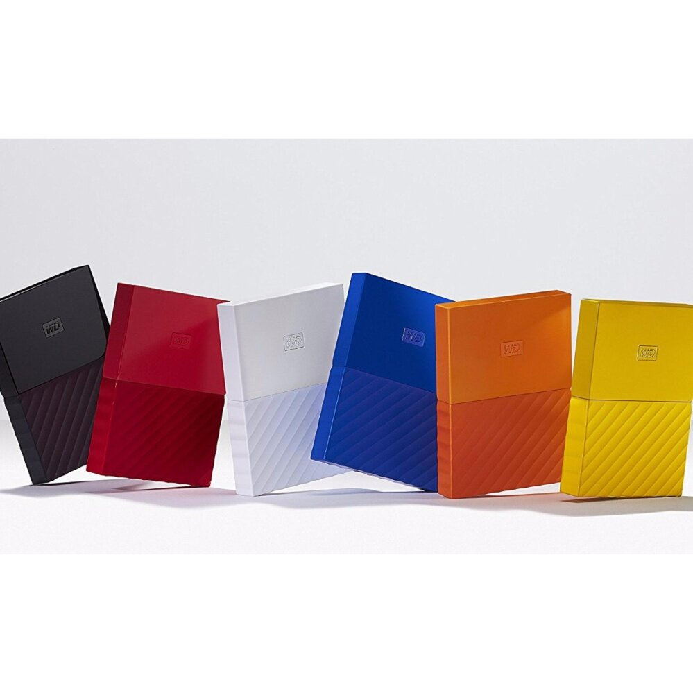 WD Western Digital HDD My Passport ( 1TB ) Portable Storage External Hard Disk Drive (ORIGINAL/ READY STOCK) - YELLOW