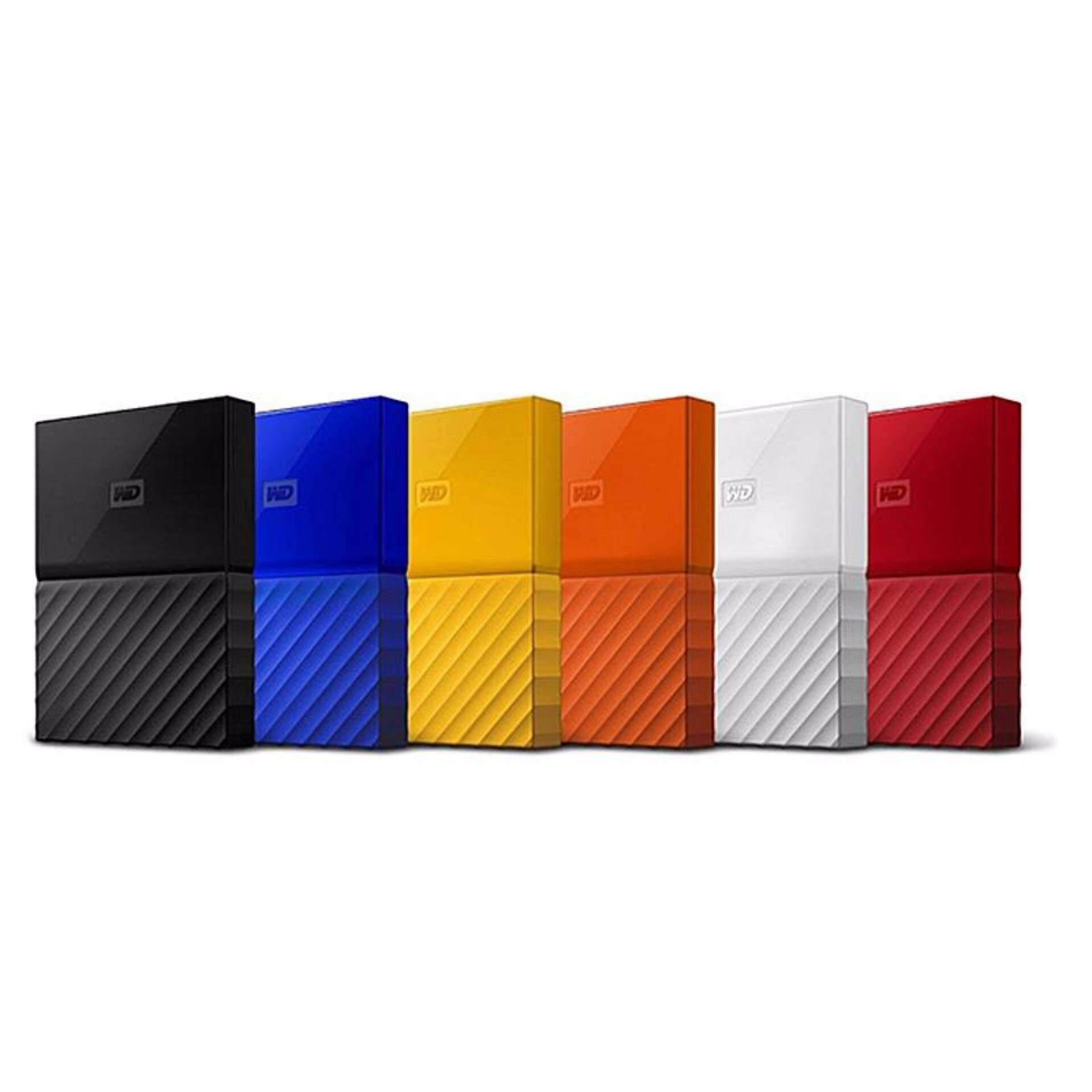 WD Western Digital HDD My Passport ( 1TB ) Portable Storage External Hard Disk Drive (ORIGINAL/ READY STOCK) - YELLOW