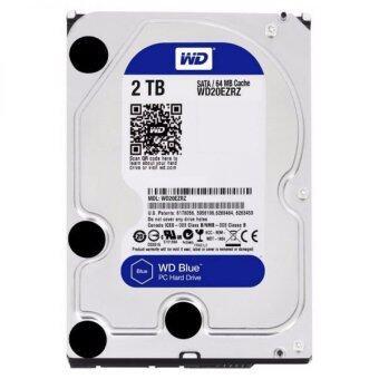 Western Digital 2TB Caviar Hard Drive 3.5 Inch SATA 7200 64MB Blue- (WD20EZRZ)
