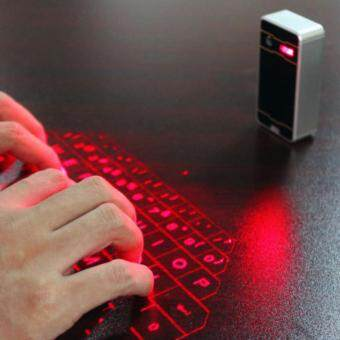 Malaysia Prices Wireless Bluetooth Air Laser Virtual Keyboard For Mobile PhoneTablet PC Laptop