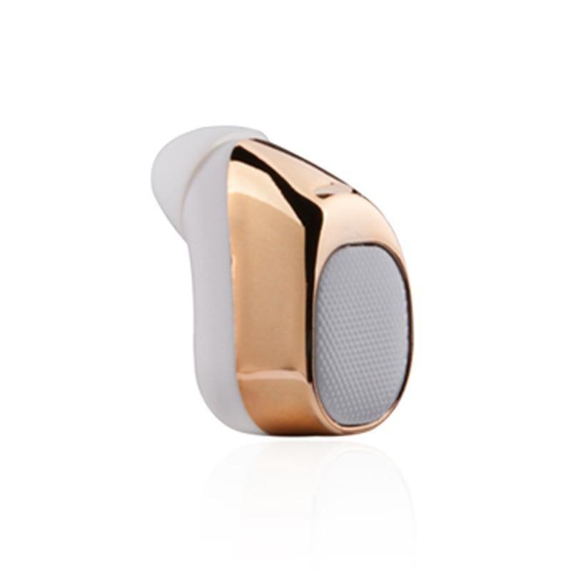 Wireless Mini In-ear Stereo Bluetooth Headset S630 Gold - intl
