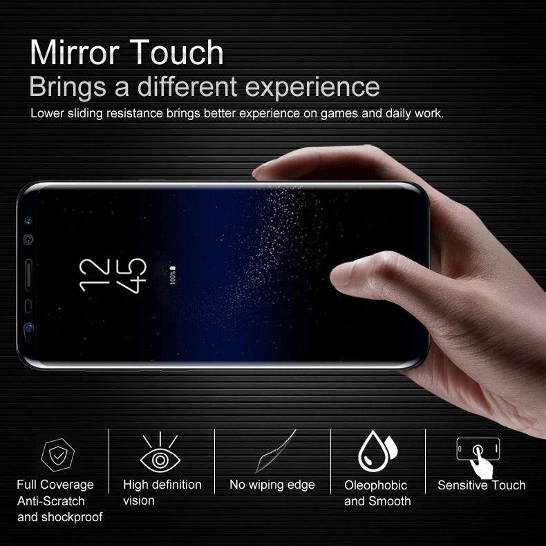 For BlackBerry Motion Hydrogel Film HD Clear Screen Film 3D Curved Edge Handphone Screen Glass Protective