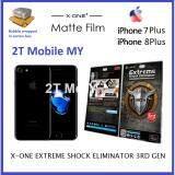 X-One Matte Anti-fingerprint Screen Protector Apple IPhone 7 Plus / IPhone 8 Plus