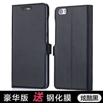 Xiaomi 5 phone Shell Anti-wrestling leather Xiaomi fiveflip-protective sleeve Xiaomi 5 phone sets sleep wake for men andwomen