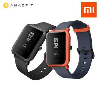 "XIAOMI Mi Fit Huami Amazfit BIP Smartwatch Band 1.28"" LCD 2.5D Corning Gorilla Glass 3, Fitness Tracker, Bluetooth, GPS + GLONASS, Heart Rate, Barometer, Waterproof IP68, PPG, Smart Watch, Original Imported set, Chinese UI"