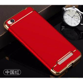 Xiaomi Redmi 4A Protection Matte Case Cover Casing (Red)