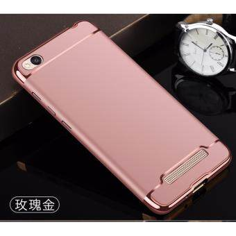 Xiaomi Redmi 4A Protection Matte Case Cover Casing (RoseGold)