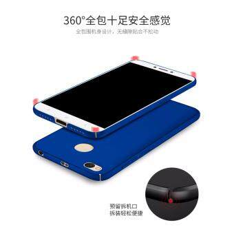 Xiaomi Redmi 4X Full Covered Matte Case (Blue) - 4