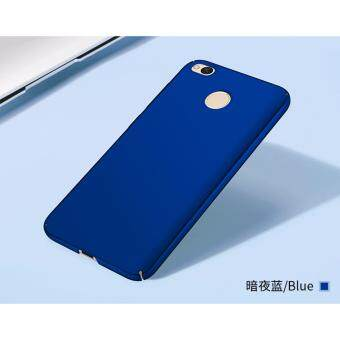 Xiaomi Redmi 4X Full Covered Matte Case (Blue) - 5