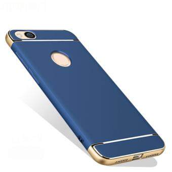 Xiaomi Redmi 4X Luxury Protective Matte Case (Blue)