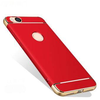 Xiaomi Redmi 4X Luxury Protective Matte Case (Red)