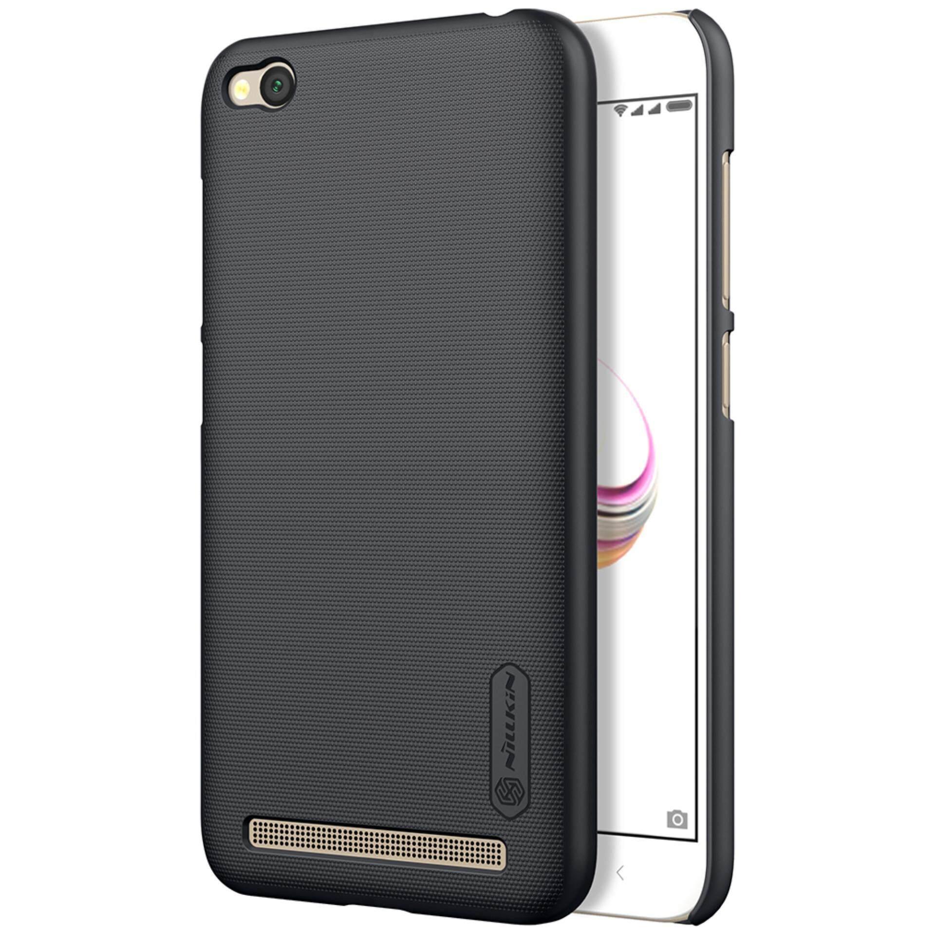ซื้อ Xiaomi Redmi 5A Case Nillkin Super Frosted Shield With Screen Protector Ultra Thin Hard Pc Case Protective Shell Back Cover For Xiaomi Redmi 5A Black Intl ใหม่