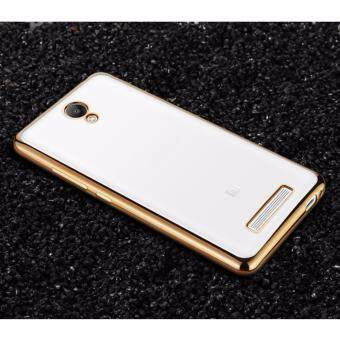 Xiaomi Redmi Note 2 Plating TPU Shockproof Protection Case