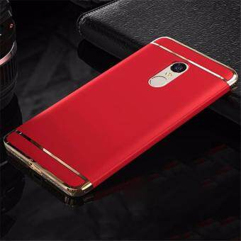 Xiaomi Redmi Note 4 Luxury Protection Matte Cover Casing - Red