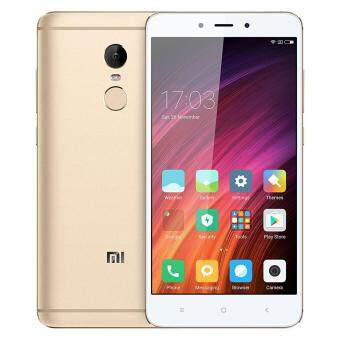 "Harga XIAOMI REDMI NOTE 4 PRO 5.5"" FHD Helio X20 Deca-core Android 6.0 4GPhone 3GB RAM 64GB ROM 13MP 4100mAh Touch ID (Gold)"