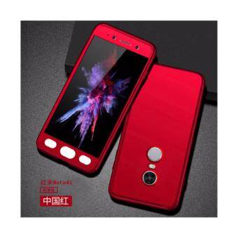 Xiaomi Redmi Note 4 (SNAPDRAGON)/ Note 4x (SNAPDRAGON) Full Covered Matte Case Cover Casing (Red)